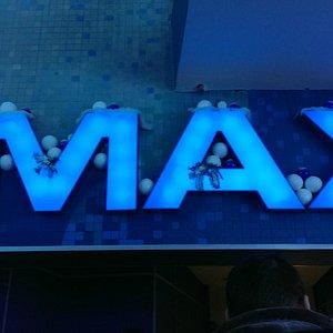 Вывеска зала IMAX