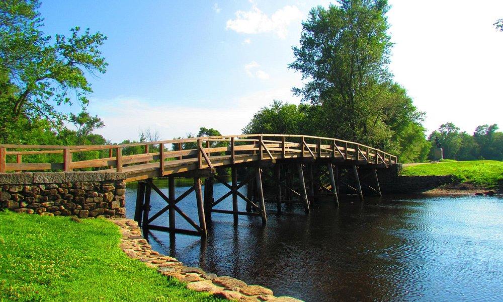North Bridge in Concord, MA