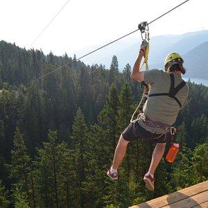 Kokanee Mountain Zipline - Great for all ages
