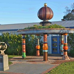 Hundertwasser's Pavilion for Nature