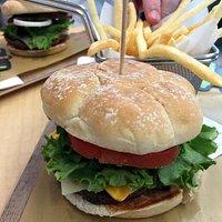 Create Your Taste burger at McD
