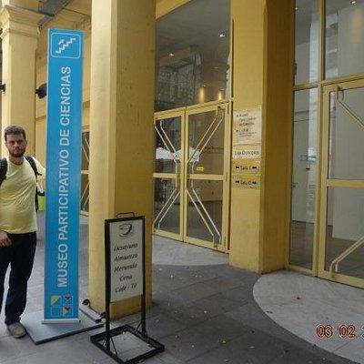 David no Prohibido no Tocar, Museo Participativo de Ciencias.