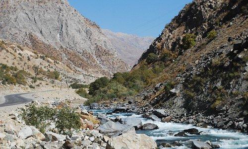 Rio Varzob - Tadjiquistão