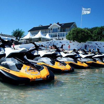 13 jet ski`s for rent