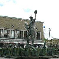 Statyn Poseidon