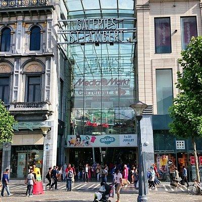 Les Galeries Saint-Lambert à Liège