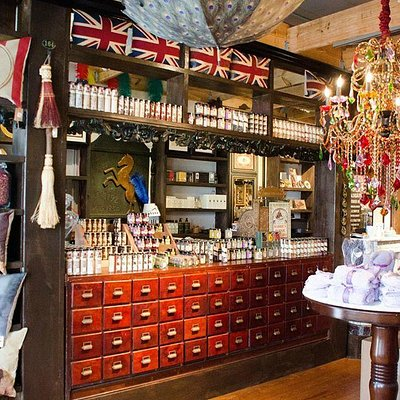 The Olfactory Company are Purveyors of Fine Continental Soaps, Teas and Oddments