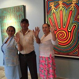 Turistas de Chone, Manabi, Ecuador