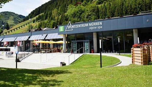 Alpine Sports Centre and Tourist Information Mürren