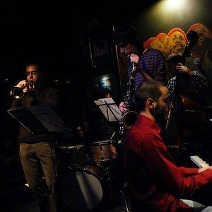 concert in keyboard. Jazz&cocktails
