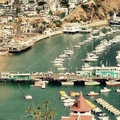 AVALON Harbor and Green Pier!