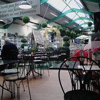 Ackworth garden Centre, cafe area