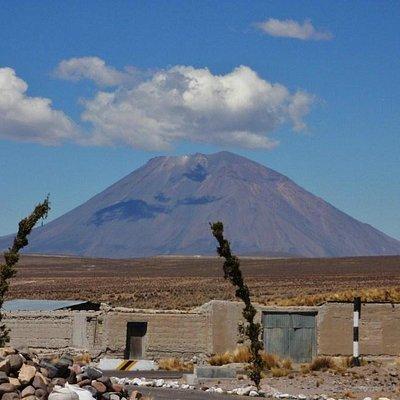 Vista vulcano