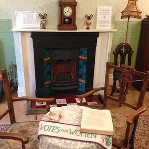 The room where the first Suffragettes meeting was held