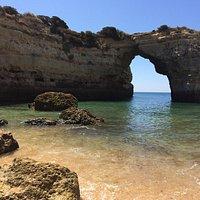 Playa de Albandeira. Impresionante