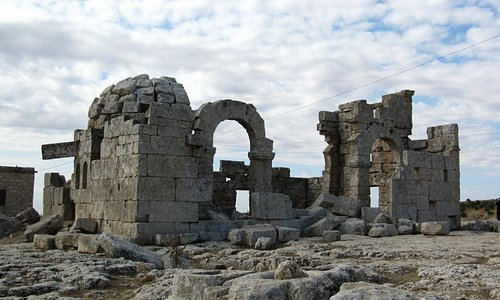 Memories of '08 on the way to St Simeon Citadel