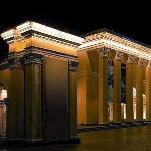 Фасад кинотеатра