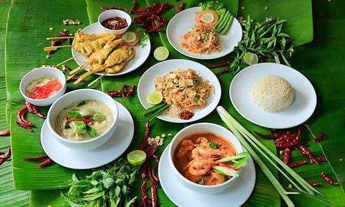 Beautiful Authentic Thai food at Island Organics