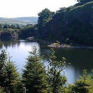 Quarry fly lake