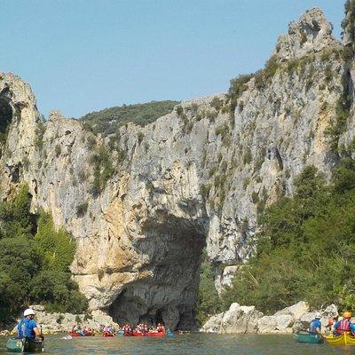 Gorges de l'Ardèche -Pont de l'Arc