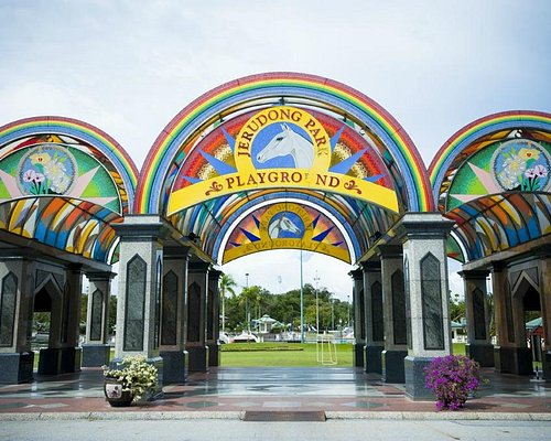 Entrance Promenade of Jerudong Park