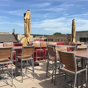 Rooftop patio/bar