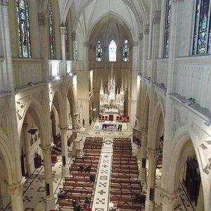Interior Iglesia San Patricio