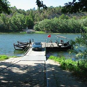 Veerboot Miravet