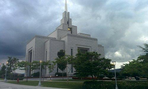 The beautiful temple of Tegucigalpa!