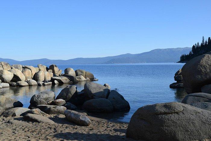 Rocks in the harbor