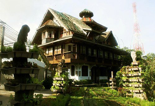 This burrow cottage is also an inn or bed and breakfast lodging.