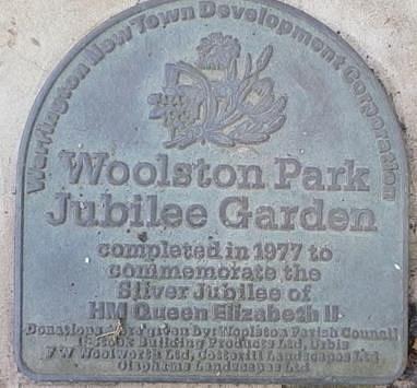 Sign for the Jubilee Garden