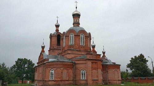Новая Троицкая церквь 1911 г. постройки
