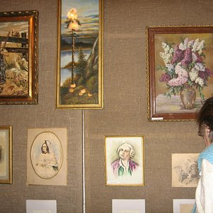 Выставка  художника, жителя города Алфёрова А.П.