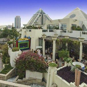 Rooftop Gardens, Pyramids at Wafi