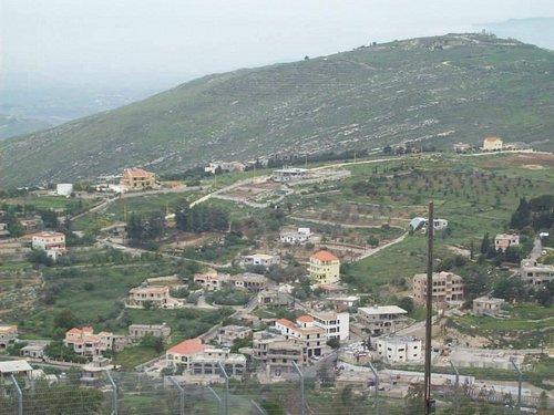 Utsikt mot Libanon