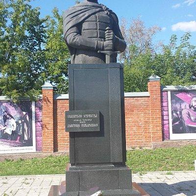 Памятник Дмитрию Пожарскому в Зарайске