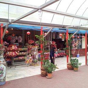 A shop selling souvenirs, titbits & decoratives