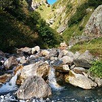 Ruisseau pendant la randonnée