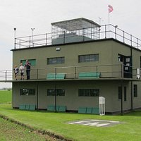 WW2 Bomber Control Tower and Museum