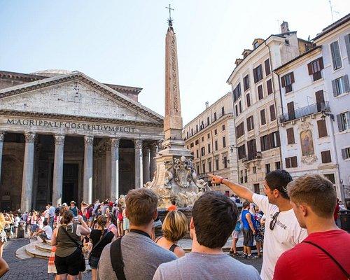 at the Pantheon