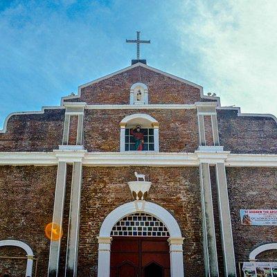 Facade of the Bacarra Church