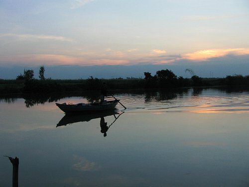 Cam Nam からの風景