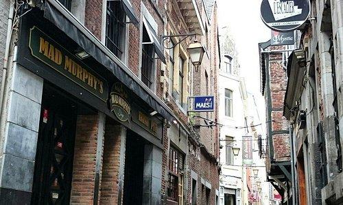 Le quartier du Carré à Liège