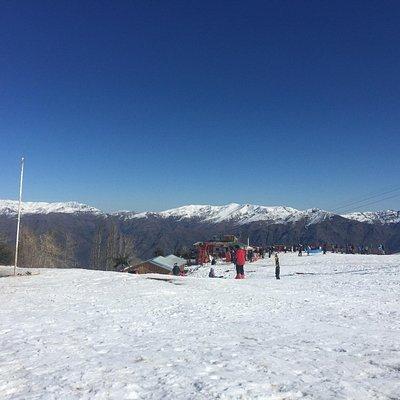Lugar para Ski pertinho de Santiago na região do caminho do Vulcão perto de San José del Maipo