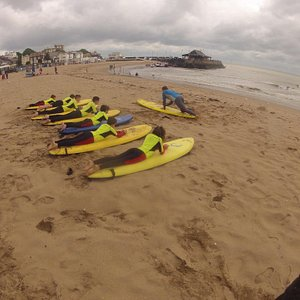 Award winning Surf lessons