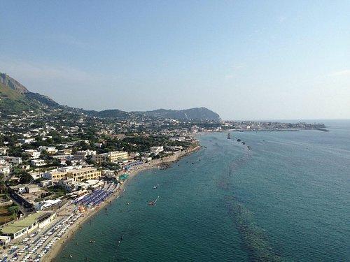 Spiaggia di San Francesco vista dal Belvedere