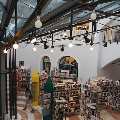 Bücherei Lüdenscheid Glasdach