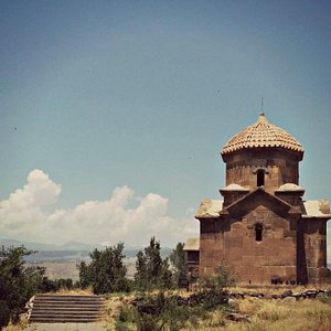 Saint Sion Childs Church in Oshakan, Armenia