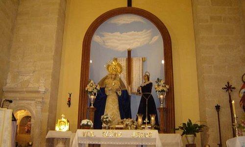 Presbiterio mayor de San Millán